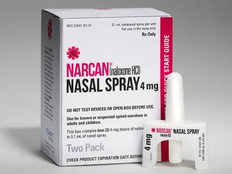 Narcan now stocked in DHS Nurse's Office