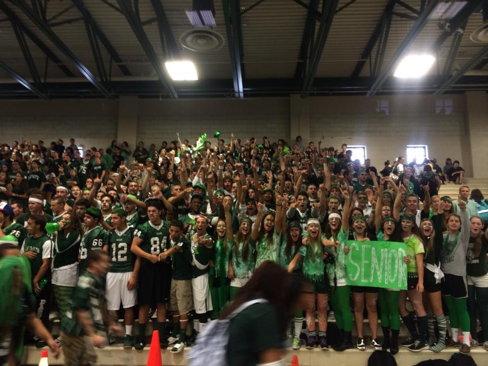 Remember when we used to do things like this? Pep Rally circa 2013. Will these events return?