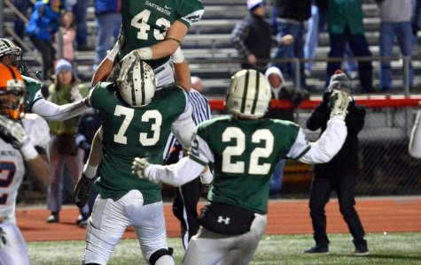 DHS beat Walpole 20-16 at Rocky Marciano Stadium on Saturday in a dramatic last-minute win. Dartmouth (9-2) will play Melrose (9-2) at Gillette Stadium on December 6 for the Division 3 State Championship.