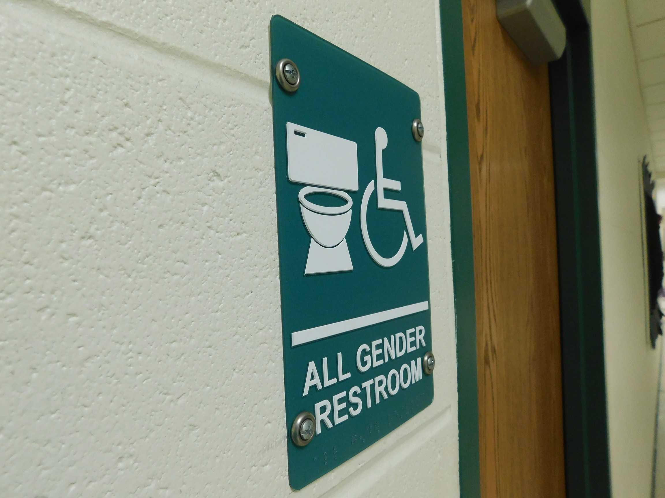 New All Gender Bathrooms at DHS.