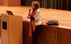 Local Author Holly Fitzgerald Speaks to DHS Students