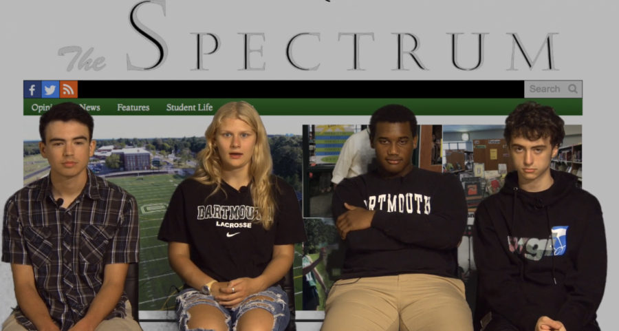 Meet the Spectrum editors in this DHS TV interview.