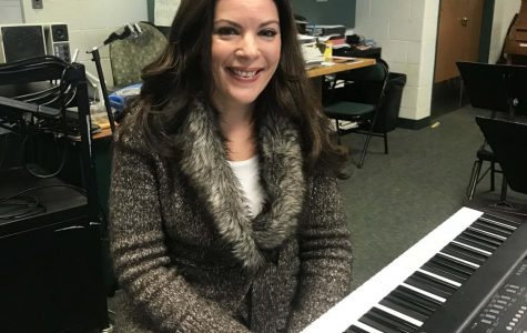 Shirley Byers joins the DHS Music Department taking over Harmonix and choral duties.