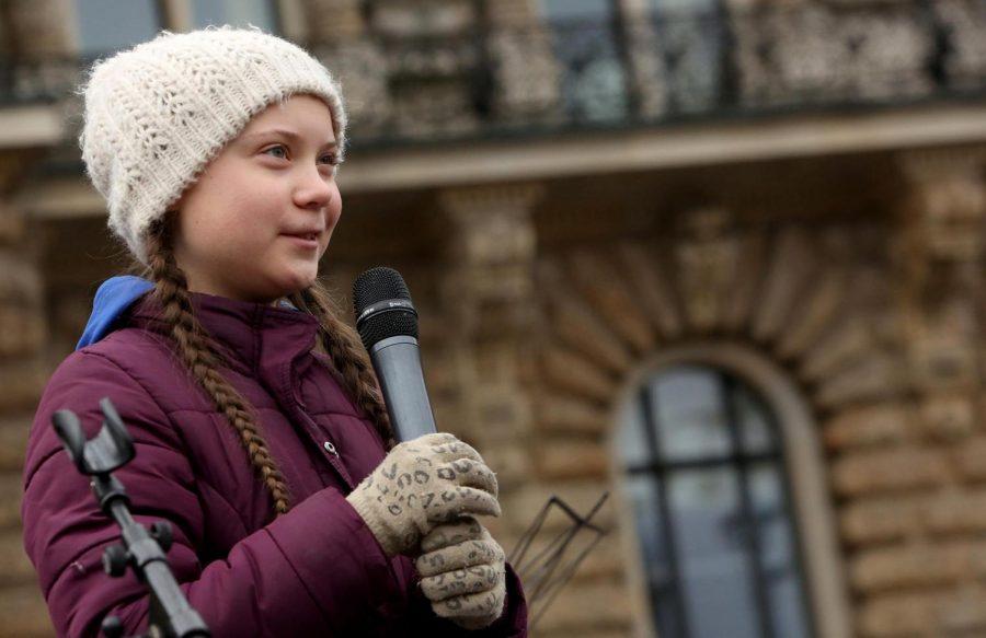 Greta+Thunberg+speaks+with+authority.