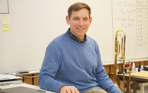 New Dartmouth Director of Music Ian Flint takes over the reins for the 2020-2021 school year.