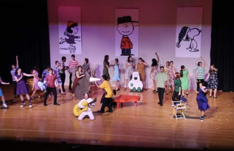 "Last year the Dartmouth Theatre Company produced ""A Charlie Brown Christmas."""