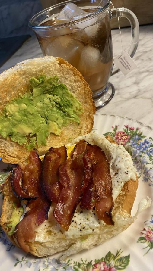 The Sweet Bread Roll Egg Sandwich