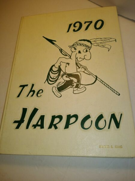 The cartoonish depiction of the DHS mascot on the cover of the 1970 DHS Yearbook.